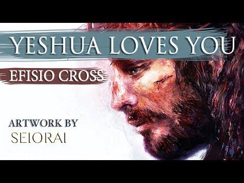 """Yeshua Loves You"" | Efisio Cross"