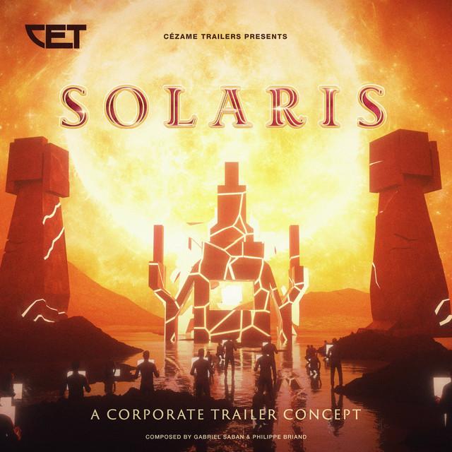 Nuevo álbum de Cézame Trailers (Gabriel Saban & Philippe Briand): Solaris
