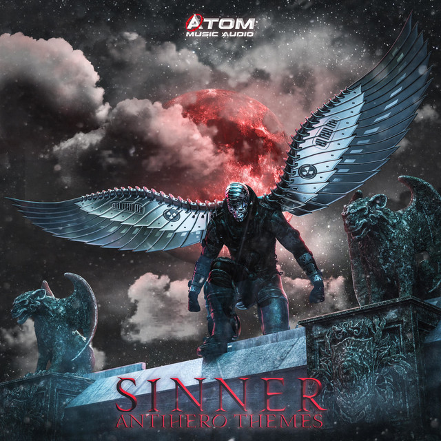Nuevo álbum de Atom Music Audio: Sinner: Antihero Themes