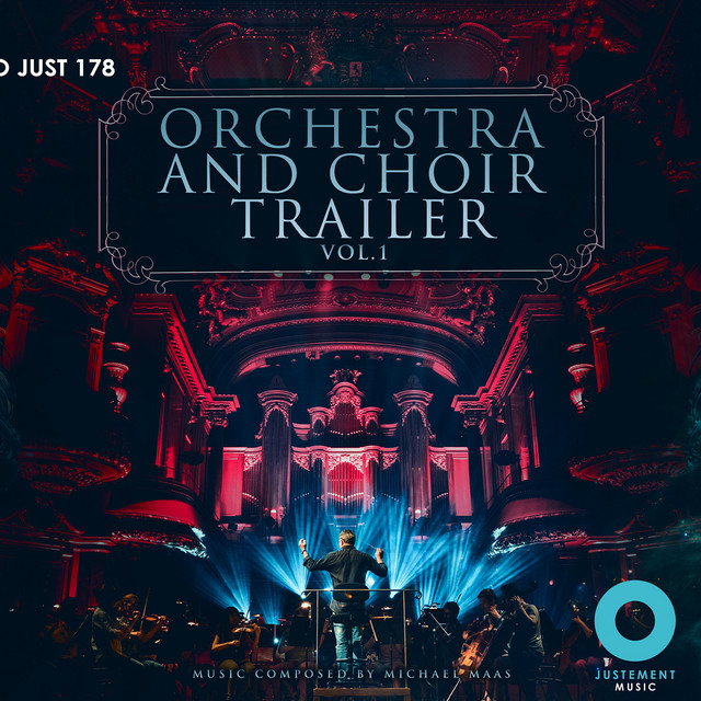 Nuevo álbum de Michael Maas: Orchestra and Choir Trailer, Vol. 1