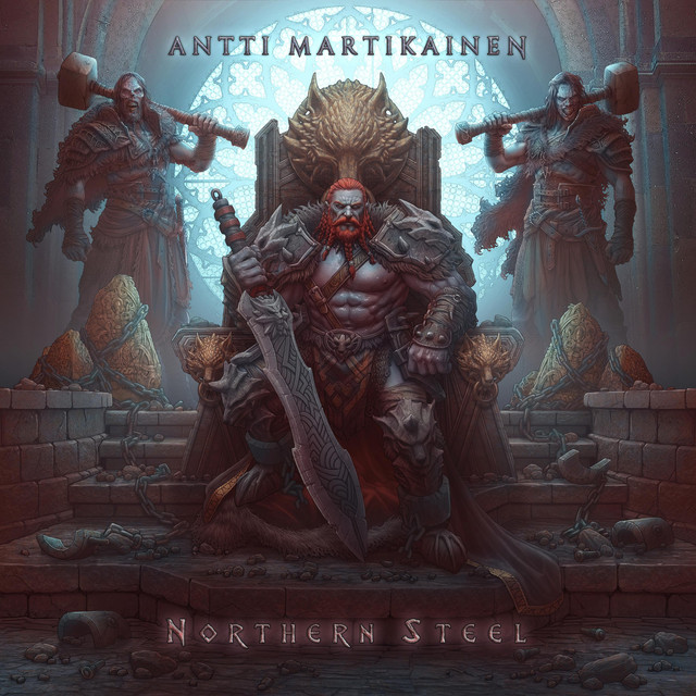 Nuevo álbum de Antti Martikainen: Northern Steel Remastered