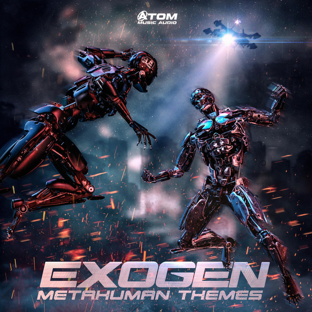 Nuevo álbum de Atom Music Audio: Exogen: Metahuman Themes