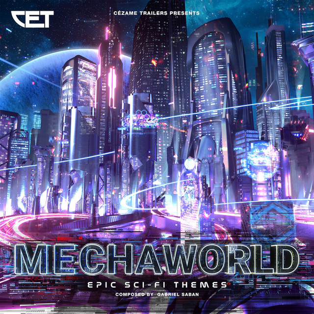 Nuevo álbum de Gabriel Saban: Mechaworld (Epic Sci-Fi Themes)