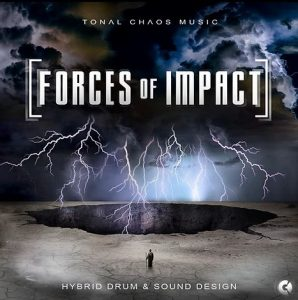 Nuevo álbum de Tonal Chaos Trailer Music: Forces of Impact - Hybrid Drums