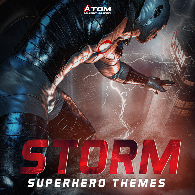 Nuevo álbum de Atom Music Audio: Storm: Superhero Themes