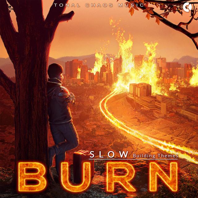 Nuevo álbum de Tonal Chaos Trailer Music: Burn